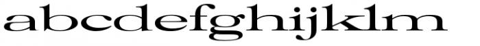 Filmotype Royal Font LOWERCASE