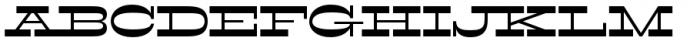 Filmotype Western Font UPPERCASE