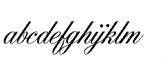 Filmotype York Font LOWERCASE