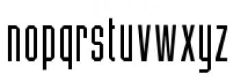 Five Star Final Font LOWERCASE