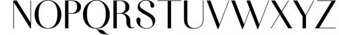 Fiona - An Elegant Typeface Font UPPERCASE