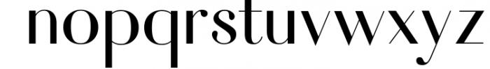 Fiona - An Elegant Typeface Font LOWERCASE