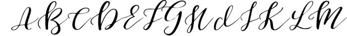 First Dance - font Font UPPERCASE