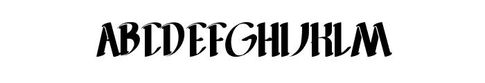 FILLET O FISH Font UPPERCASE