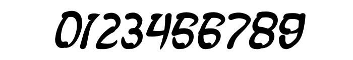 FISH BONE Bold Italic Font OTHER CHARS