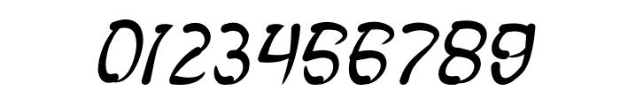 FISH BONE Italic Font OTHER CHARS