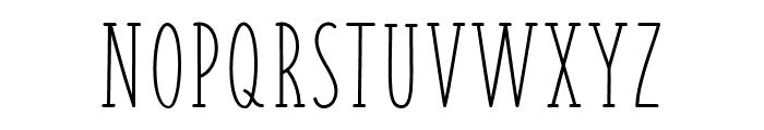FISH&CHIPS-Regular Font UPPERCASE