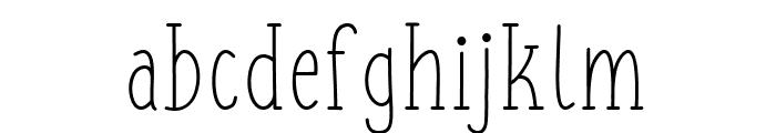 FISH&CHIPS-Regular Font LOWERCASE