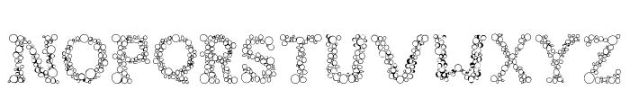 FIZZO-Regular Font LOWERCASE