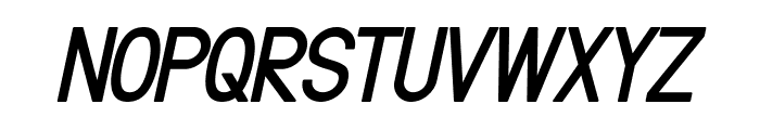 Fibel Nord Bold Italic Font UPPERCASE