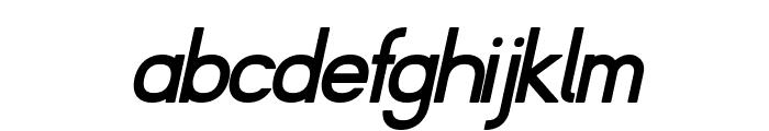 Fibel Nord Bold Italic Font LOWERCASE