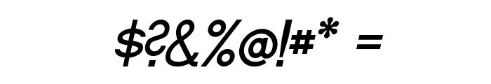 Fibel Nord Italic Font OTHER CHARS