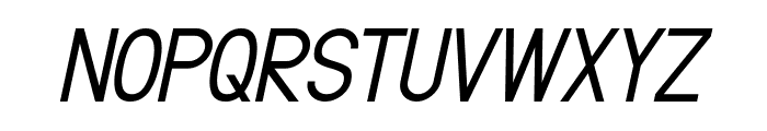 Fibel Nord Italic Font UPPERCASE