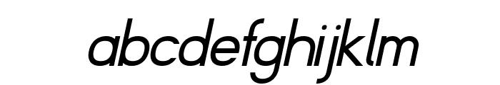 Fibel Nord Italic Font LOWERCASE