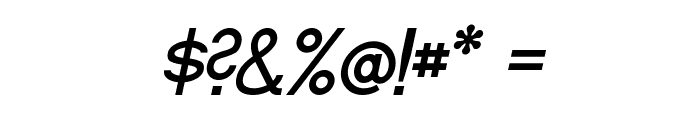Fibel Sued Italic Font OTHER CHARS