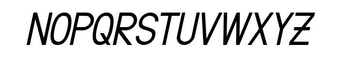 Fibel Sued Italic Font UPPERCASE