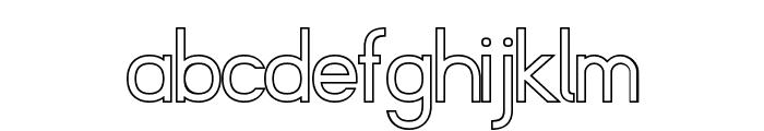 Fibel Sued Kontur Font LOWERCASE