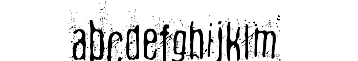 Fibyngerowa Font LOWERCASE