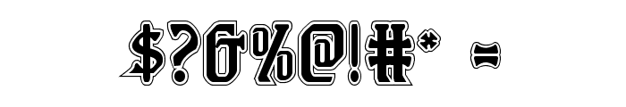 Fiddler's Cove Academy Regular Font OTHER CHARS