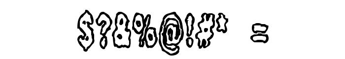 Fidgety BRK Font OTHER CHARS