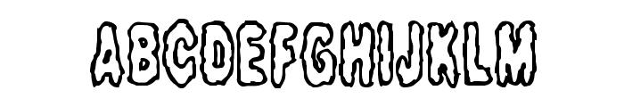 Fidgety BRK Font UPPERCASE
