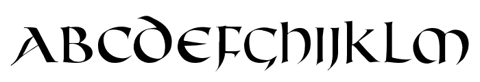 FifthCenturyCaps Font UPPERCASE