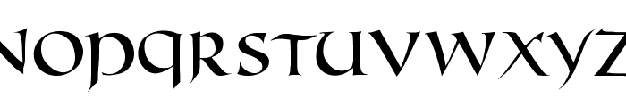 FifthCenturyCaps Font LOWERCASE