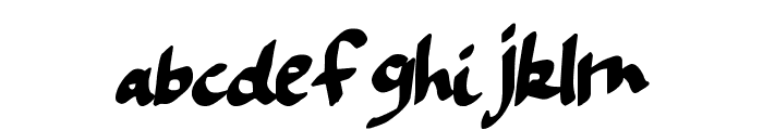 FiftyShadowsDT Font LOWERCASE