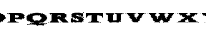 FiftyTwoLetters Font LOWERCASE
