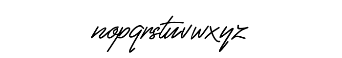 Fiftyes Font LOWERCASE