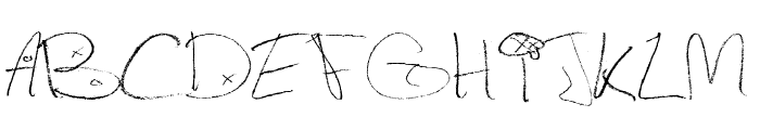 Figge Hand Style Font UPPERCASE