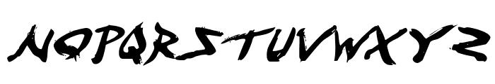 Fight Kid Italic Font LOWERCASE