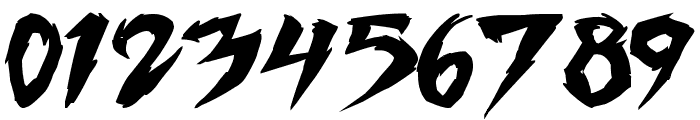 Fighting Spirit TBS Bold Font OTHER CHARS