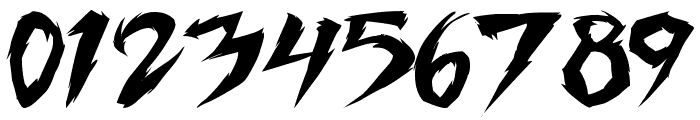 Fighting Spirit TBS Font OTHER CHARS