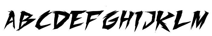 Fighting Spirit TBS Font UPPERCASE
