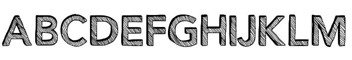 Figurativative Font UPPERCASE