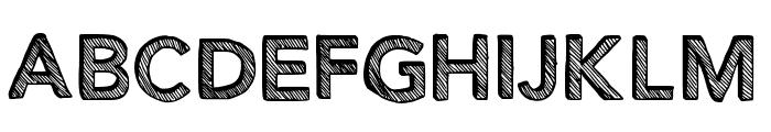 Figurativative Font LOWERCASE