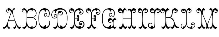Figurny Font UPPERCASE