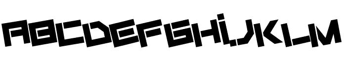 Fiker regular promo Font UPPERCASE