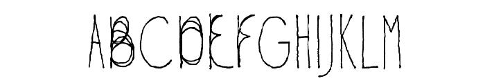 Fil Sans Semi-condensed Thin Font UPPERCASE