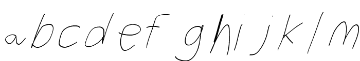 Filament Five-Seven Font LOWERCASE