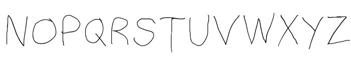 Filament Five Font UPPERCASE
