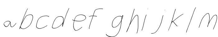Filament Four-Seven Font LOWERCASE