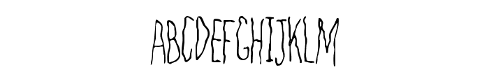 Filamental Font UPPERCASE