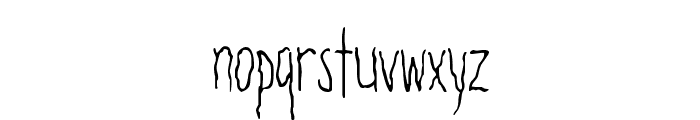Filamental Font LOWERCASE