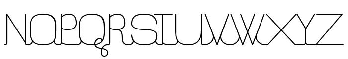 FilatureStd-Light Font UPPERCASE