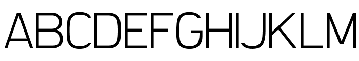 Filetto ExtraLight Font UPPERCASE