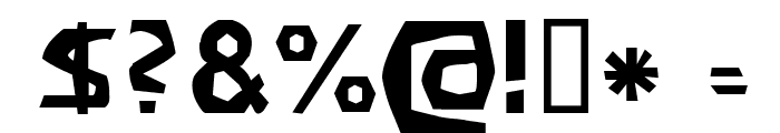 Filirator Font OTHER CHARS