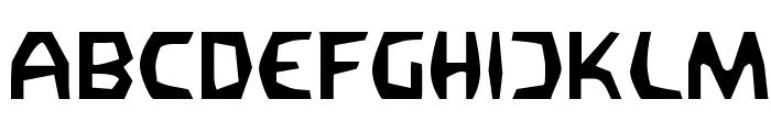 Filirator Font UPPERCASE