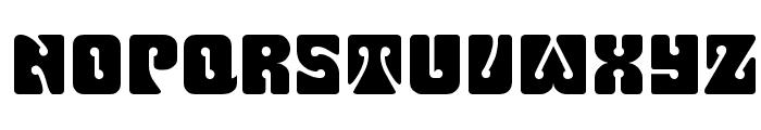 Fillmore Regular Font UPPERCASE